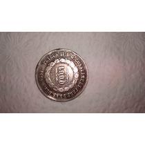 Moeda Antiga Petrus 1000 Reis 1859