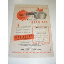 ( L - 290/ P ) Propaganda Antiga Panela De Pressão Marmicoc