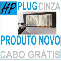 Fonte Impressora Hp Photosmart C3180 Plug Cinza + Cabo Força
