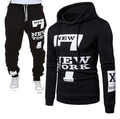 73485630b3 Conjunto Moletom Canguru 7 New York + Calça 7 New York Grife
