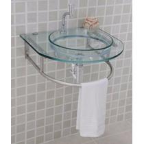 Gabinete Para Banheiro Vidro Incolor - Estilo Verdi