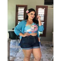 dec87060d1fcba Feminino Destroyed Shorts Jeans com os melhores preços do Brasil ...