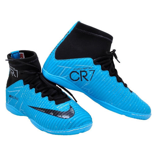 Chuteira Cr7 Futsal Adulto Cano Alto Frete Grátis 52a1e7a9fb41c