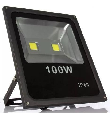 Refletor Lâmpada 100w Iluminação Potent Quadra Futebol Campo