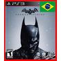 Batman Arkham Origins Ps3 Psn Dublado Portugues Pt Br