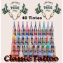 Tinta Tatuagem Kit 40 Tintas - Tattoo