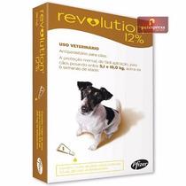Revolution 12% Antipulgas Cães De 5 A 10 Kg - 1 Ampola
