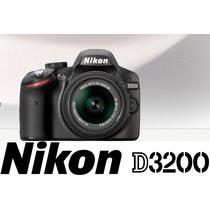 Câmera Nikon D3200 Lente 18-55mm Vrii + Bolsa Original Nikon