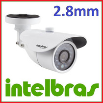 Camera Intelbras S3120 Infra 20mts 2.8mm Ir Cut Effio S3020