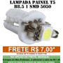 Lampada Led T5 B8.5 Para Painel Frete R$ 6,00 Varias Cores