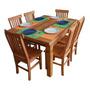 Mesa De Jantar Cozinha 1 60   6 Cadeiras Promoção Imbatível