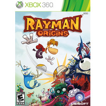 Rayman Origins Xbox 360 - Jogo Infantil Português