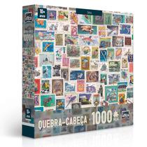 Quebra-cabeça - 1000 Peças - Coleções - Selos - Toyster