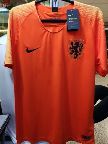 Camisa Holanda Home 2018 Novas A Pronta Entrega 0ff4fc5affec0