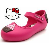 Sapatilha Boneca Hello Kitty Cupcake 21150 - Rosa