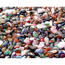 1kg Pedras Gemas 2 - 4cm Semipreciosas Brasileiras Mistas