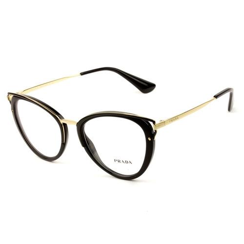 5fc6e4579 Óculos De Grau Prada Vpr 53u 1ab-1o1 52 - Nota Fiscal