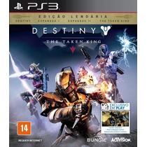 Jogo Ps3 Destiny The Taken King Ps3 Ed.léndaria Lançamento