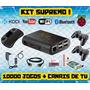 Kit Emulador Raspberry 12mil Jogos + Multimídia - Lançamento