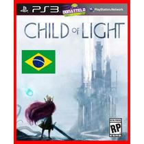 Child Of Light Ps3 Psn Aventura Dublado + Jogo Brinde