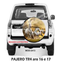 Capa Estepe Pajero Tr4 Pneu Original, Todas, Cavalo, M-2413