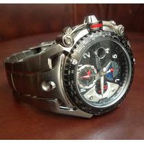 Relógio Orient Flytech Em Titânio - Sem Uso -100% Original