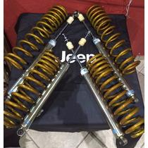Kit Lift Jeep Wrangler 07 A 16 De 4.5 Pol.+ Bilsten + Molas