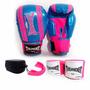 Kit Masculino Feminino Boxe Muay Thai Luva Bandagem Bucal