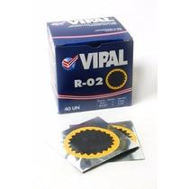 Remendo R02 Vipal P/ Camara De Ar 50mm C/40 Unidades