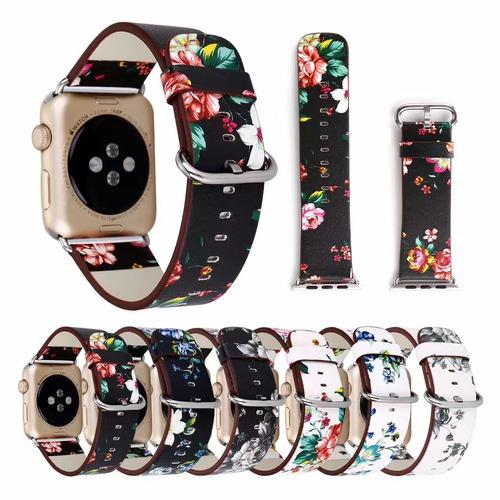 e44a013b01c Pulseira Florida Couro Para Apple Watch 1 2 3 4