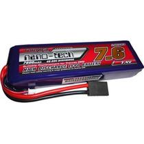 Bateria Turnigy Nano-tech 7600mah 2s 40~80c Lipo 7.4v
