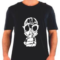 Camiseta Mascara Gaz Silk Poison Veneno Mask Dark Guerra War