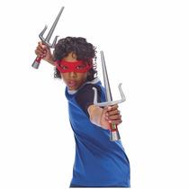 Kit De Acessórios Tartarugas Ninja - Raphael - Multikids