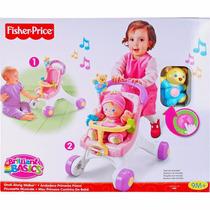 Meu Primeiro Carrinho De Bebê De Bebê Fisher Price
