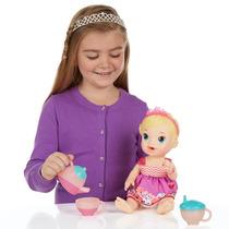 Boneca Baby Alive Loira - Hora Do Chá - Hasbro