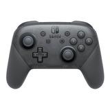 Controle Joystick Nintendo Pro Controller Switch Preto