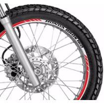 Friso Adesivo Refletivo Roda Tuning M2 Moto Honda Bros 160