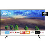 Smart Tv Led 40  Samsung Ultra Hd 4k 40nu7100 Com Conversor.