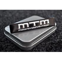 Emblema Mtm Bmw M3 M5 X5 X6 118 120 320 325 A1 A3 A4 Q7 S3 !
