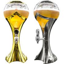 Chopeira Torre Chopp Cerveja Gelada Com Led - Envio Express