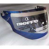 Viseira Bieffe 3 Sport V3 Azul Metalizada Original