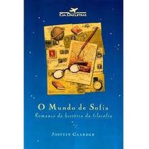 Livro O Mundo De Sofia Semi-novo