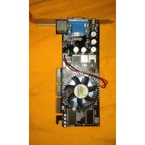 Placa De Vídeo Inno3d Mx-4000-8x 64mb Agp Mx4000 I-4000-e3d2