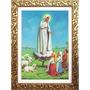 Quadro Nossa Senhora De Fátima 90x70 Lindo E Decorativo