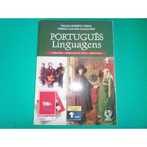 Livro Português Linguagens 1 - E.m 1° Série - Atual Editora.
