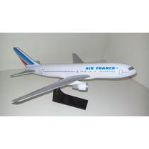 Maquete Em Resina Avião Boeing 767 Air France