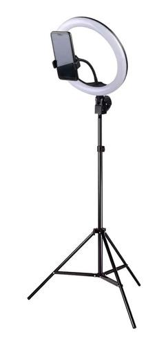 Kit Iluminador Led Ring Light Tripé Suporte Celular Selfie