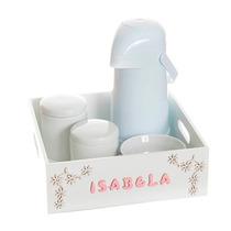 Kit Higiene Com Arabescos E Nome Do Bebê Quarto Infantil