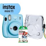 Câmera Instax Mini + Filme+ Brinde - Todas As Cores