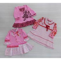 Vestido De Inverno Bebê Lilica Ripilica - Mega Promoção